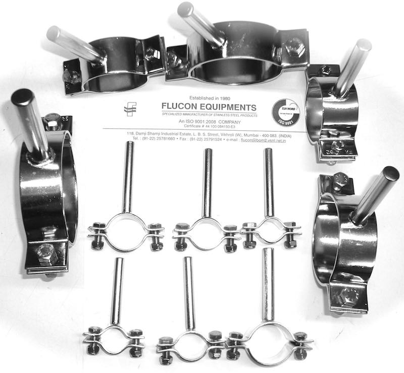 Stainless Steel Pipe Hangers Round